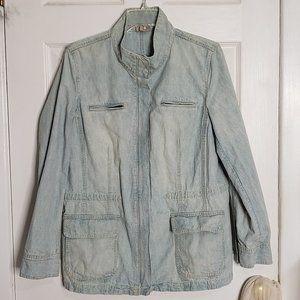 EUC Vintage Cotton J.Jill Utility Jacket, M